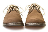 Shoes brown — Stock Photo