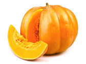Pumpkin cut — Stock Photo