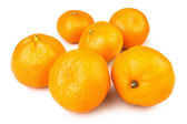 Tangerine group — Stock Photo