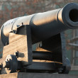 Cannon old nautical — Stock Photo