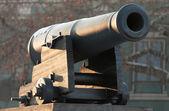 Cannon old nautical — Stock Photo