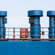 Stock Photo: Ship hull ventilation