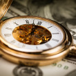 Time money — Foto de Stock