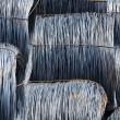 Stock Photo: Coils metal stack wire