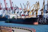 Bulkfartyg — Stockfoto