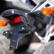 Stock Photo: Motorcycle rear turn lights