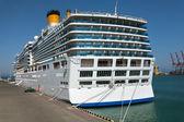 Passenger ship stern — Foto de Stock
