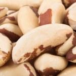 Brazil nuts macro — Stock Photo #44032297