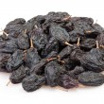 Raisins black heap — Stock Photo #44033075