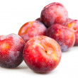 Red plums — Stock Photo #49368141