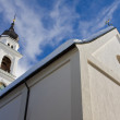 Church against the sky - Stock Photo