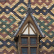 Hospices de dieu in burgundy - Stockfoto