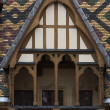 Hospices de dieu in burgundy — Stock Photo