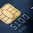 Credit card with gold chip — Stock Photo #13580475