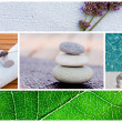 Spa background tranquil scene — Stock Photo