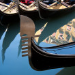 Gondola in venice — Stock Photo