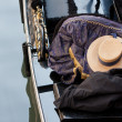 Hat in gondola — Stock Photo #13580742