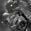 Stock Photo: Internal combustion engine