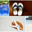 Tropical Beach resort series — Stock Photo
