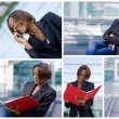 Successful african american business woman — Stock Photo
