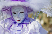 Venice carnival costume mask — Stock Photo