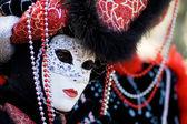 Венеции карнавал Маскарадная маска — Стоковое фото