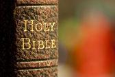 Bíblia sagrada — Foto Stock