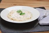 Spaghetti carbonara — Stock Photo