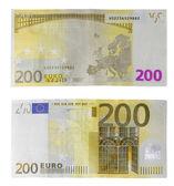 Euro 200 para para — Stok fotoğraf
