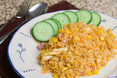 Indonesian fried rice — Stock Photo
