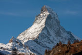 Zermatta Matterhorn Mountain in Switzerland — Stock Photo