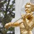 Johann Strauss statue in Vienna — Stock Photo #14910131