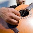 Man playing acoutic guitar — Stock Photo #14911511