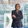 Black african american business woman - Stock Photo