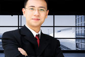 Asian business man — Stock Photo