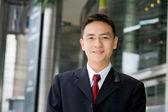 Good looking asian business man — Stock Photo