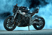 Custom street motorcycle — Stock Photo