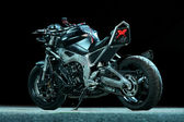 Custom motorcycle — Stock Photo