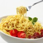 Постер, плакат: Spaghetti on a fork