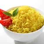 Yellow rice dish — Stock Photo #31834279