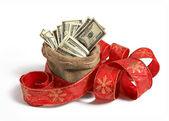 Bag of money — Stock Photo