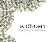 Economy background concept and place for the text — Stock Photo