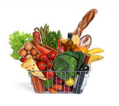 Consumer basket — Stock Photo