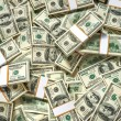 ������, ������: Stacks of one hundred dollars banknotes