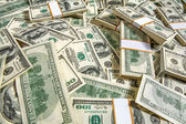Pack of dollars — Stock Photo