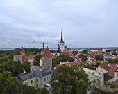 Staré město tallinn. — Stock fotografie