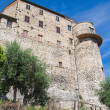 Stock Photo: Fortified walls. Narni. Umbria. Italy.