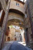Alleyway. Narni. Umbria. Italy. — Stockfoto