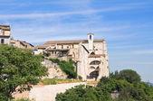 教会的圣 agostino。纳尔尼。翁布里亚。意大利. — 图库照片