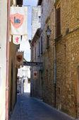 Alleyway. Narni. Umbria. Italy. — Stock Photo